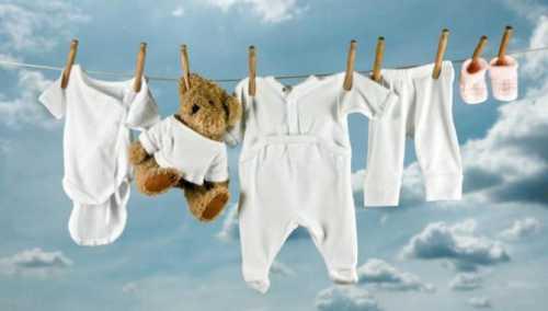 как и чем стирать правильно детские вещи